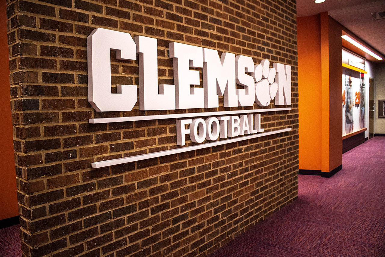 Clemson Tigers Football || Longhorn Lockers || Custom Locker Company